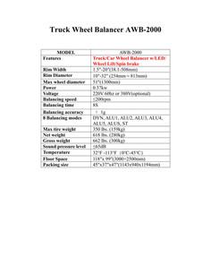 Aston-Spec AWB-2000