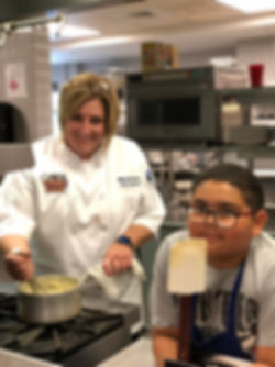 Chef Maria Crann, Create-a-Cook Camp