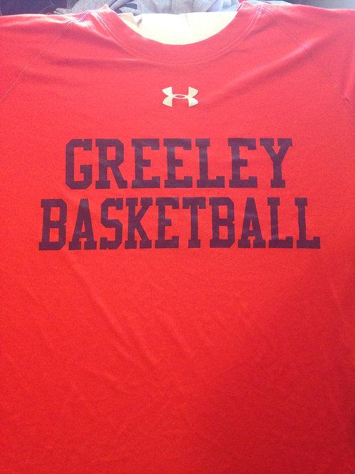 Greeley basketball Under Armour short-sleeve tee shirt