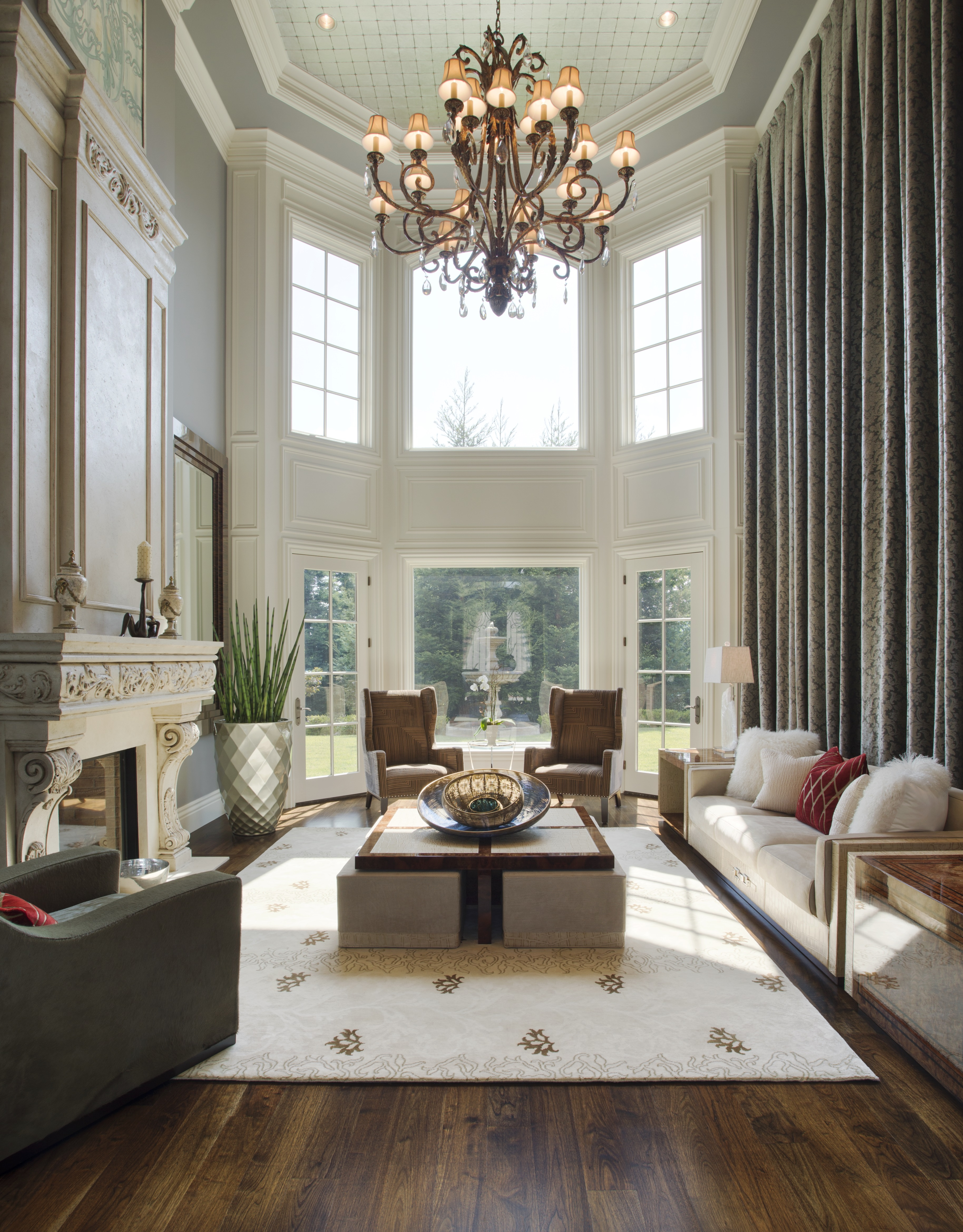 Modern French Chateau Interior Design Da Lusso Design