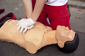 CPR C with AED