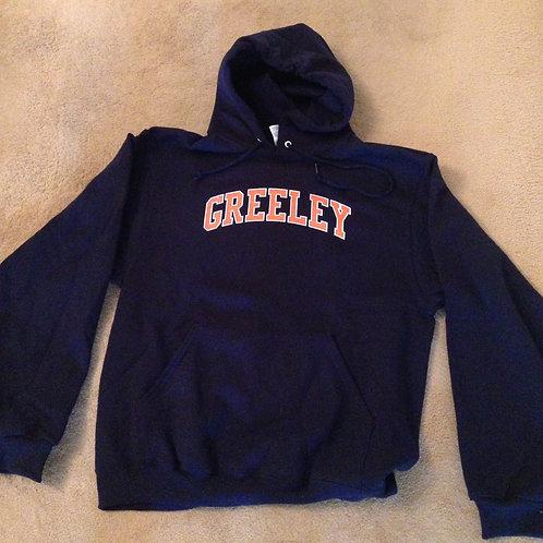 Greeley cotton hooded sweatshirt