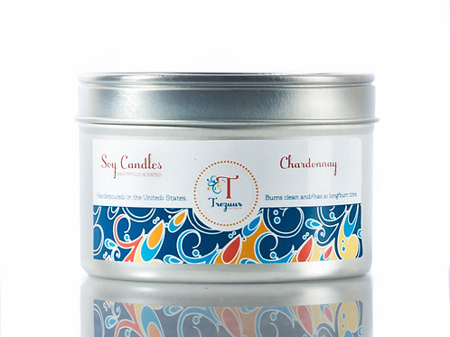 Scented Soy Candle Chardonnay
