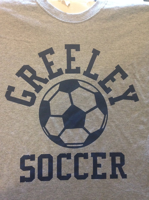 Greeley soccer cotton tee shirt