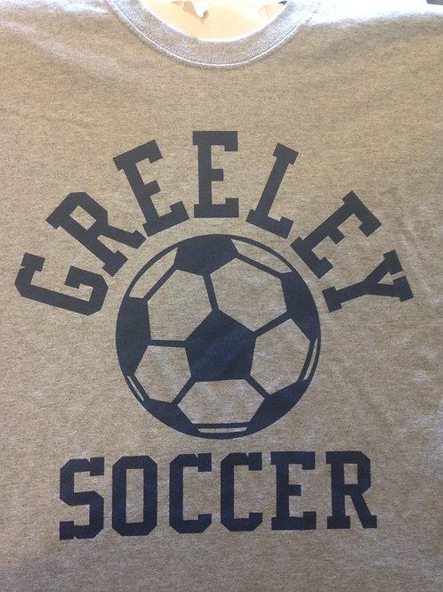Greeley soccer cotton tee shirt