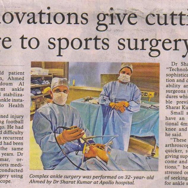 Sports Surgery
