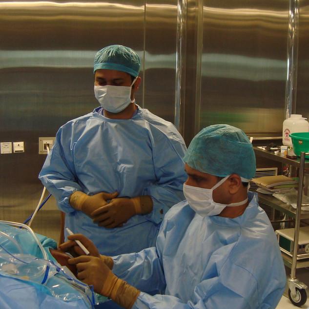 Performing Elbow Arthroscopy