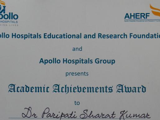 Apollo Academic Achievements Award