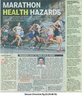 Deccan Chronicle Marathon Health