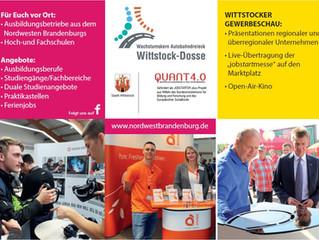jobstartmesse und Gewebeschau 2019 - Anmeldungen completed...