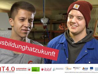 Niklas und Robert - Botschafter für die duale Ausbildung 4.0 in Nordwestbrandenburg