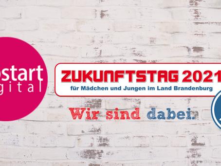 Zukunftstag 2021 auf jobstartdigital.de