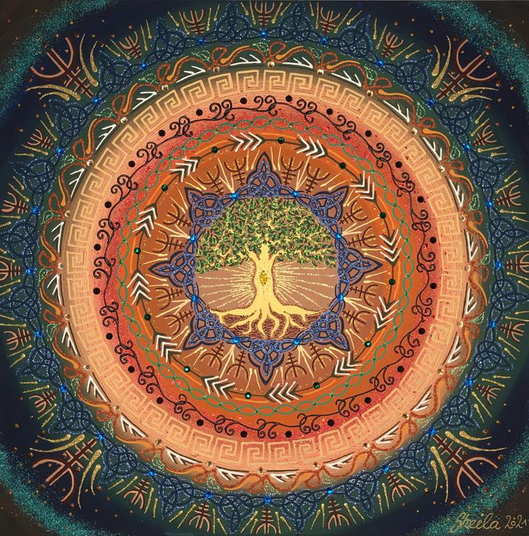 Element Erde / Baum des Lebens