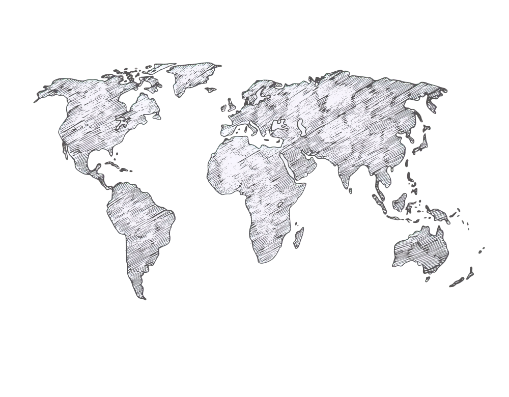 world-map-sketch-earth-continents-rough-