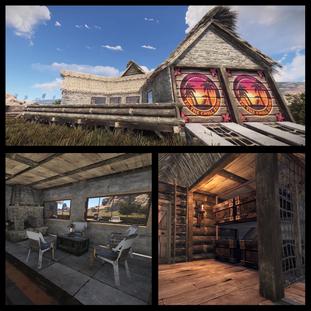 Cozy PVE House Build
