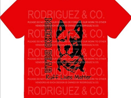 New items for 2020! Custom pet shirts available online.
