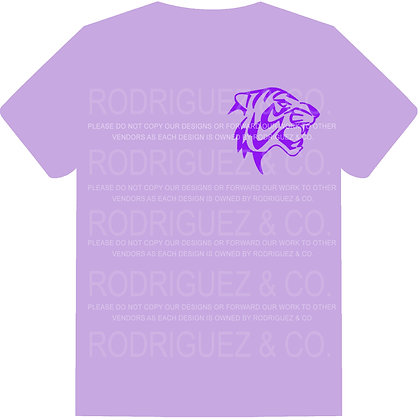 MMS Tigers Front / Back -  Short Sleeve