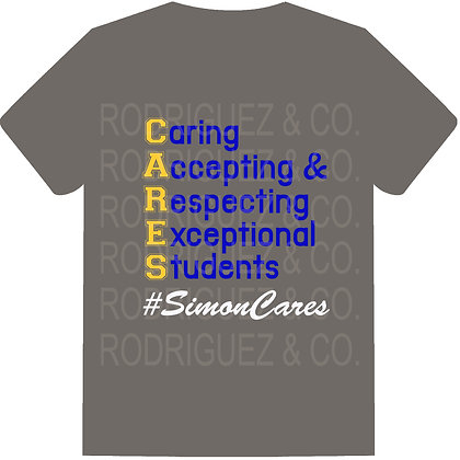 Simon CARES T-Shirt - Short Sleeve