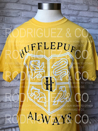 Hufflepuff  -  Short Sleeve