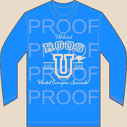 Uhland Elementary School Staff Shirt - Long Sleeve