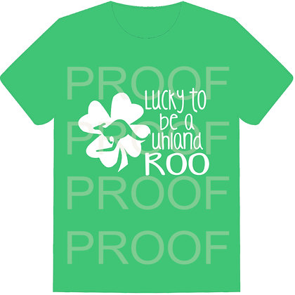 UES Lucky to be a ROO -  Staff & Parent Shirts - Short Sleeve