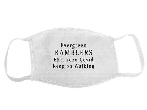 Evergreen Ramblers Face Mask