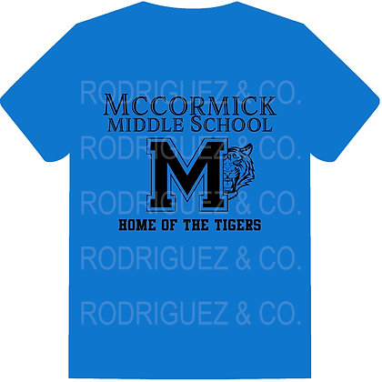 MMS Home of the Tigers -  Short Sleeve