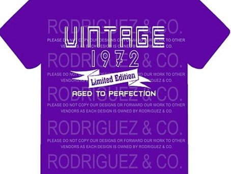New items for 2020! Vintage shirt with your favorite year.