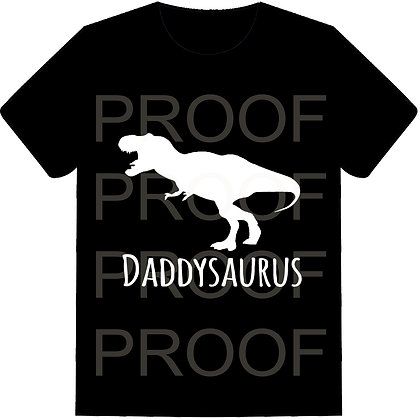 Daddysaurus Shirt