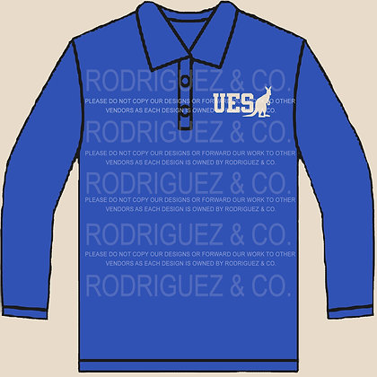 2020 - 2021 UES Uniform Shirts - Polo Long Sleeve - Individual
