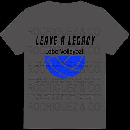 Leave a Legacy Student Shirt -  Short Sleeve