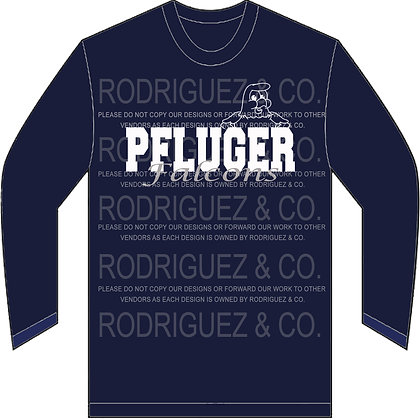 PFLUGER Falcons -  Long Sleeve