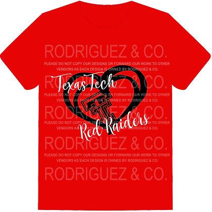 Texas Tech Red Raiders -  Short Sleeve