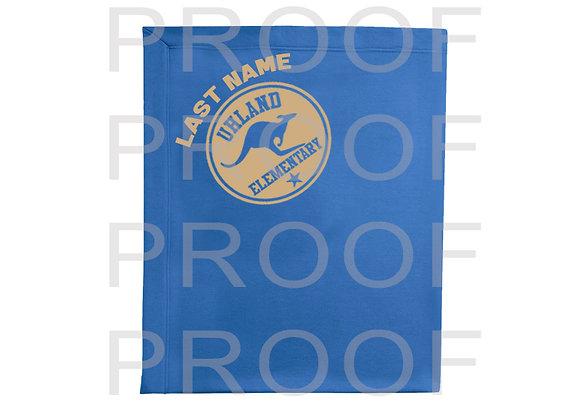 Uhland Elementary School Student - Fleece Blanket