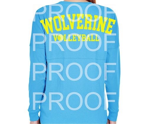 Simon Wolverine Volleyball Student Game Day Jersey