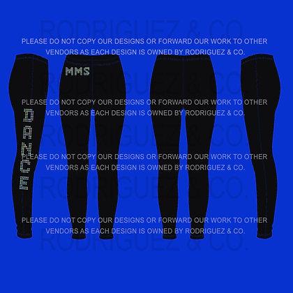 MMS DANCE Spandex Leggings
