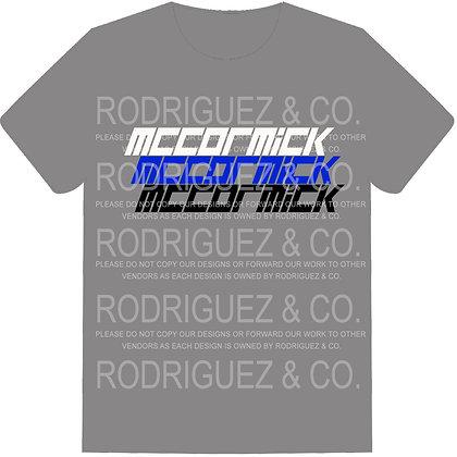 McCormick Tigers -  Short Sleeve