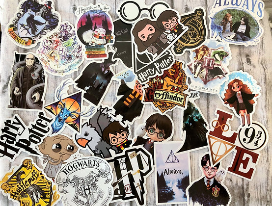 Hogwarts Themed Stickers