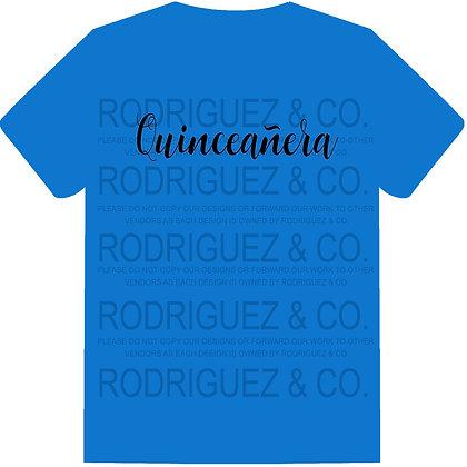 Quinceanera  - Short Sleeve