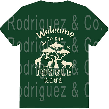 Welcome To The Jungle Roos- Short Sleeve