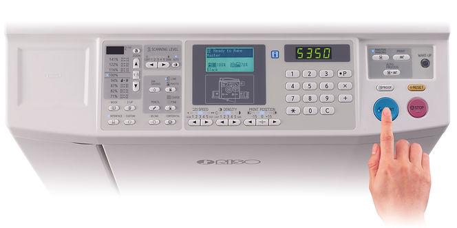 RISO SF5350 panel