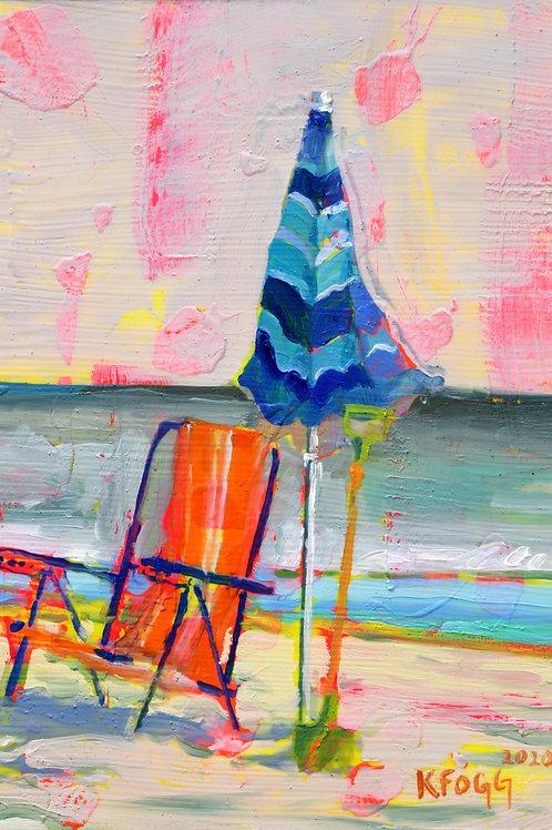 Umbrella & Chair
