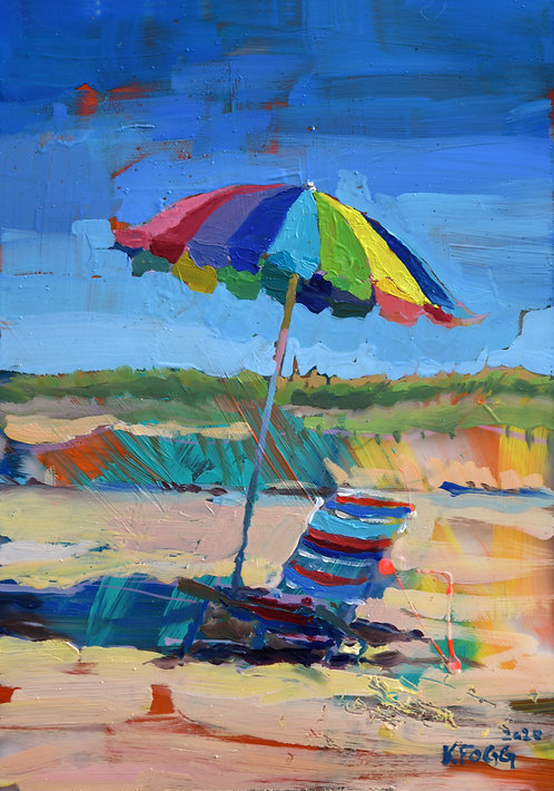 The Rainbow Umbrella