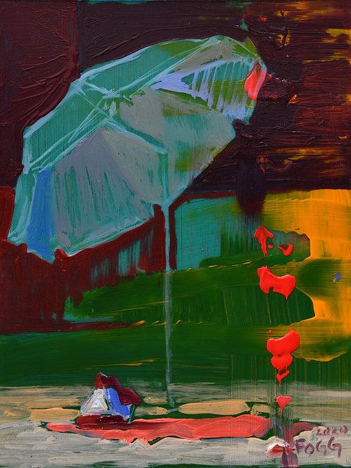 Umbrella & Beach Bag