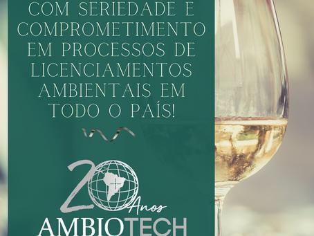 Ambiotech comemora 20 anos