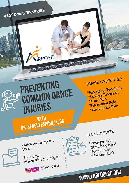 LSCD Master Series 1: Injury Prevention.