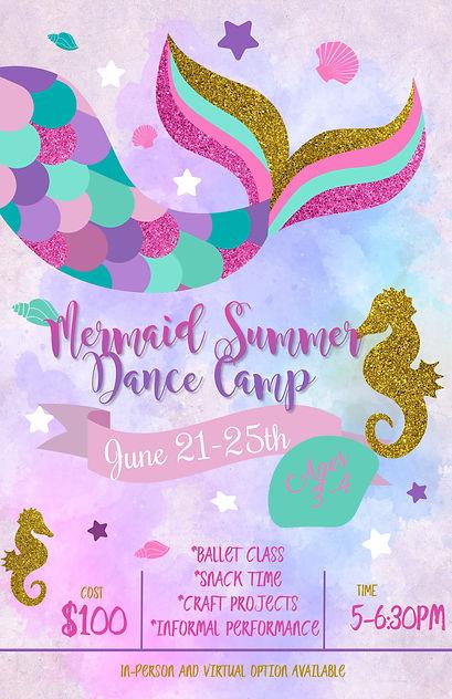 Copy of mermaid Birthday Invitation temp