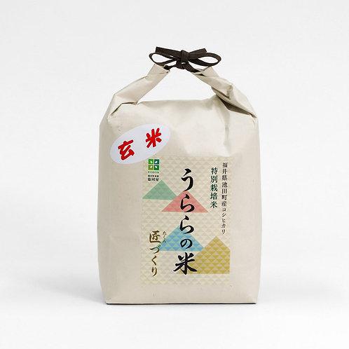 うららの米 匠づくり[玄米3kg]