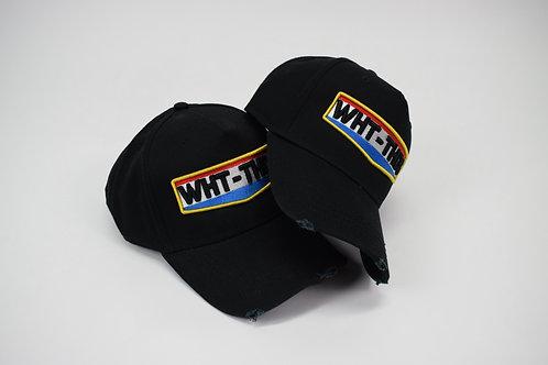 Black WHT-THDS Flag Cap