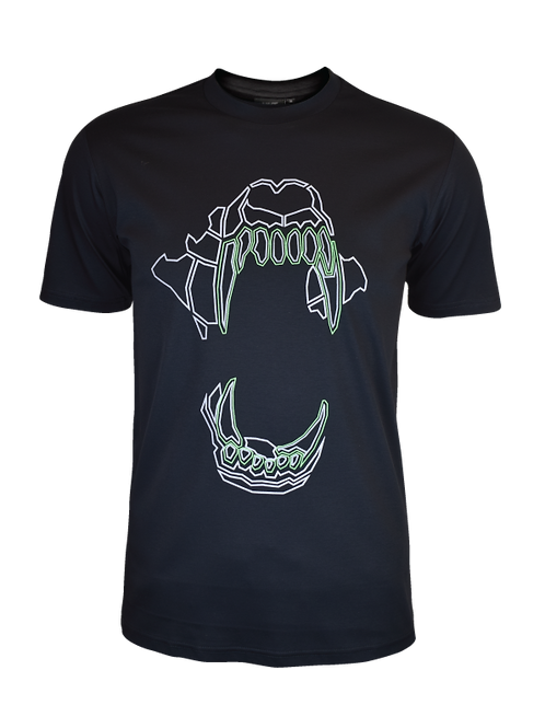 Black Neon Bite T-Shirt